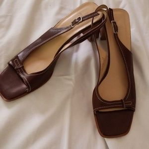 Coach Nora Square Heels